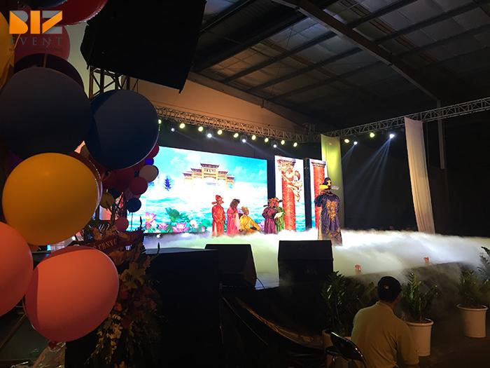biz event cho thue am thanh anh sang to chuc su kien tiec cuoi nam mi cung dinh - Biz Event setup âm thanh ánh sáng và màn hình LED cho Gala Micoem 2017