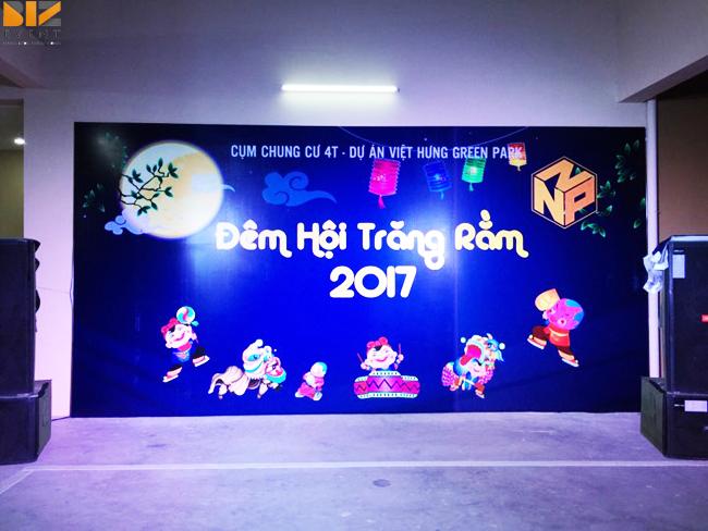 biz event to chuc trung thu - Biz Event tổ chức đêm hội trăng rằm tại cụm Chung Cư 4T Việt Hưng