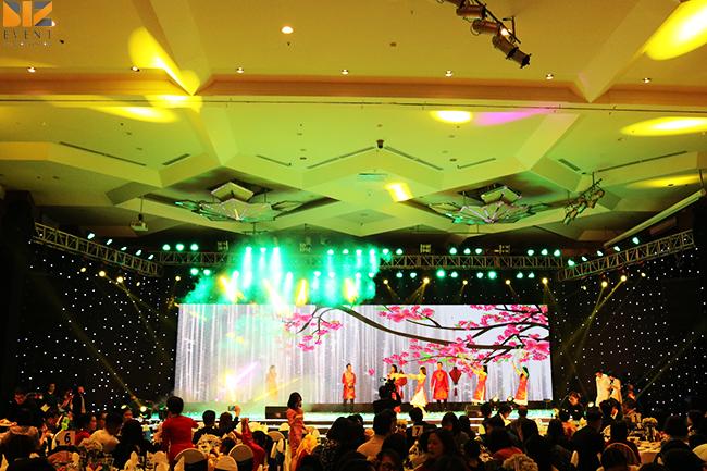 cho thue am thanh anh sang - Chương trình Year and Party công ty DaiKin - Sự Kiện BIZ EVENT