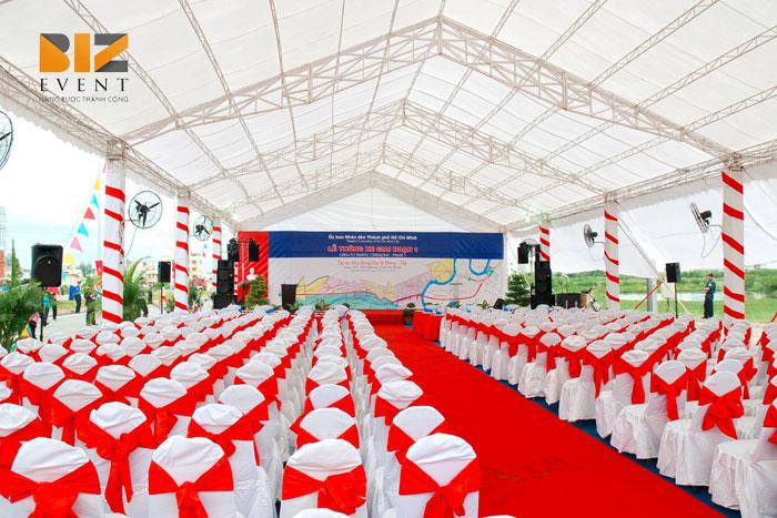 cho thue nha gian 1 - Dựng sân khấu nhà bạt nhà giàn, Cho thuê Màn LED Máy chiếu tại Hải Phòng