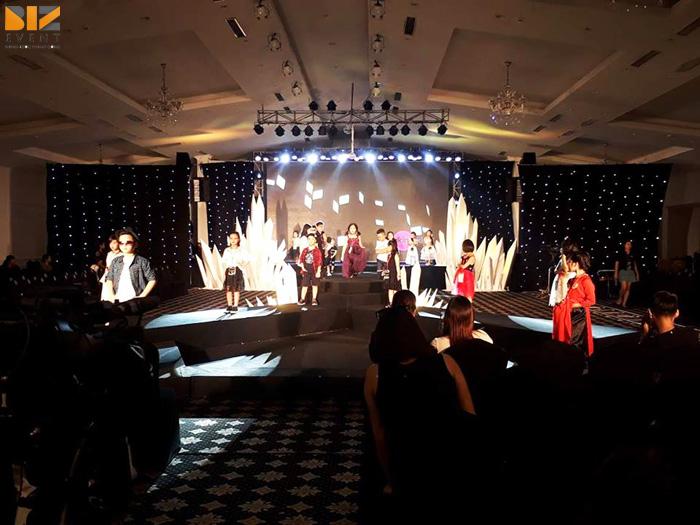 chuong trinh tai nang nhi - BIZ EVENT set up âm thanh ánh sáng Chương trình Siêu Sao Tài Năng Nhí 2017