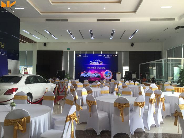 cong ty to chuc su kien chuyen nghiep - BIZ EVENT tổ chức trọn gói cho chương trình mở bán GOLDMARK CITY