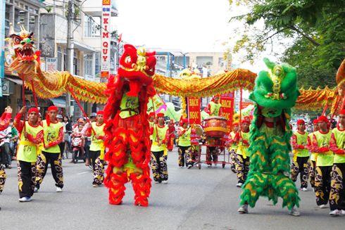Dịch vụ cho thuê đội múa lân sư rồng tổ chức sự kiện