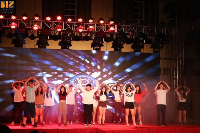 nhan su su kien min - Biz Event set up Lễ Tri Ân và Trưởng Thành trường THPT Trần Phú