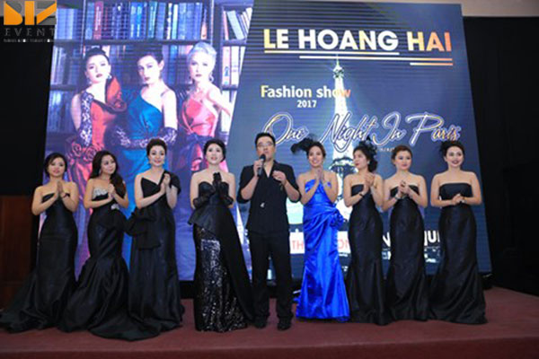 show dien thoi trang - Biz Event đồng tổ chức show diễn thời trang của NTK Lê Hoàng Hải