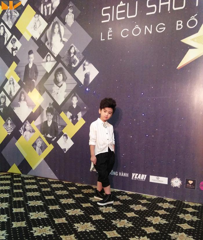 sieu sao tai nang nhi cong ty su kien - BIZ EVENT set up âm thanh ánh sáng Chương trình Siêu Sao Tài Năng Nhí 2017