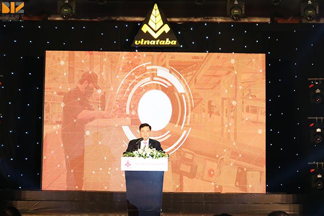 thiet ke san khau chuyen nghiep - Biz Event set up Hội nghị tổng kết Vinataba Tổng Công Ty Thuốc Lá VN
