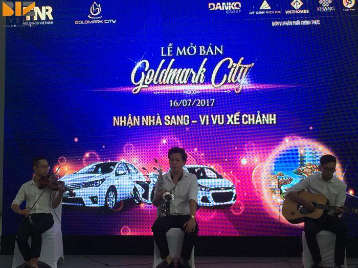 tiec cho cac su kien - BIZ EVENT tổ chức trọn gói cho chương trình mở bán GOLDMARK CITY