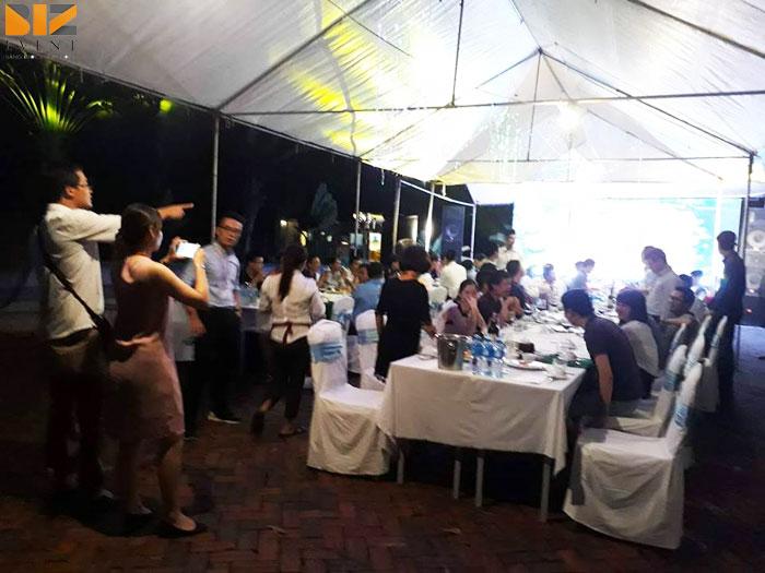 tiec gala dinner - BIZ EVENT setup âm thanh ánh sáng gala dinner công ty DaiKin Air Conditioning
