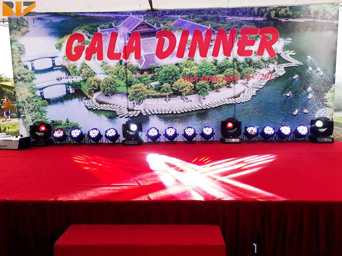 to chuc gala dinner tai ninh binh - BIZ EVENT setup âm thanh ánh sáng gala dinner công ty DaiKin Air Conditioning