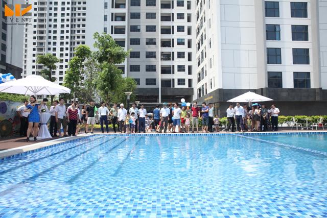 to chuc le khai truong to chuc le mo ban can ho chung cu ruby goldmark15 - Biz Event tổ chức lễ khai trương bể bơi và mở bán căn hộ khu Ruby