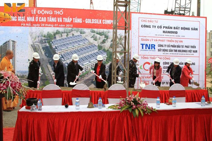 to chuc le khoi cong dong tho chuyen nghiep - Biz Event Tổ chức lễ khởi công động thổ chuyên nghiệp giá rẻ