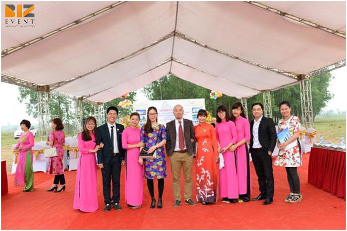 to chuc le khoi cong dong tho - Biz Event Tổ chức lễ khởi công động thổ chuyên nghiệp giá rẻ
