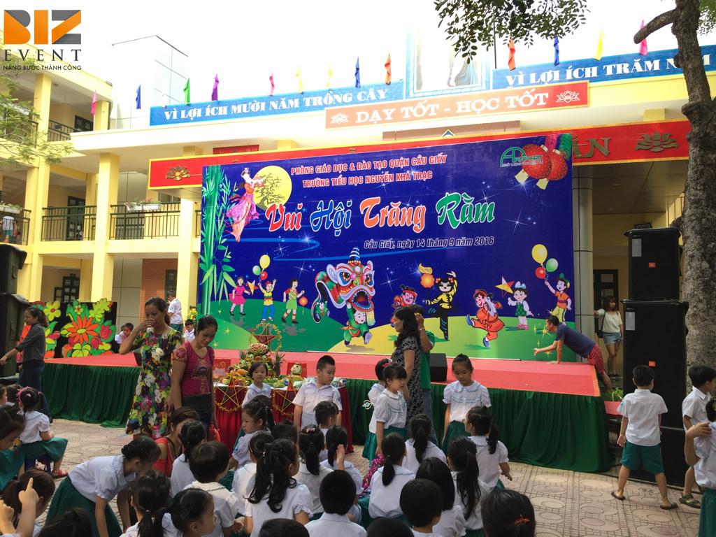 tổ chức chương tình trung thu cho các bé 1-6