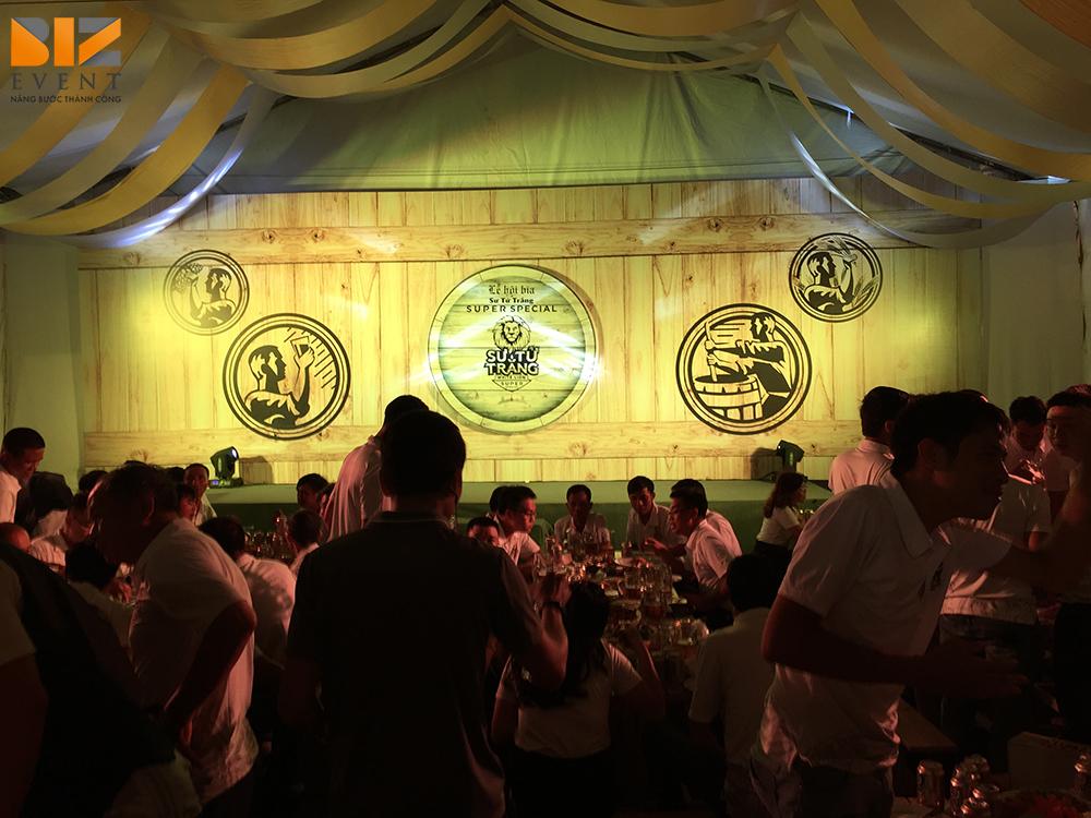 to chuc su kien biz event to chuc le ra mat san pham moi to chuc le gioi thieu san pham 1 - Biz Event đồng Tổ chức sự kiện Lễ hội bia Bia Sư Tử trắng