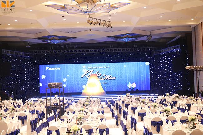 to chuc tat nien cho cong ty - Chương trình Year and Party công ty DaiKin - Sự Kiện BIZ EVENT