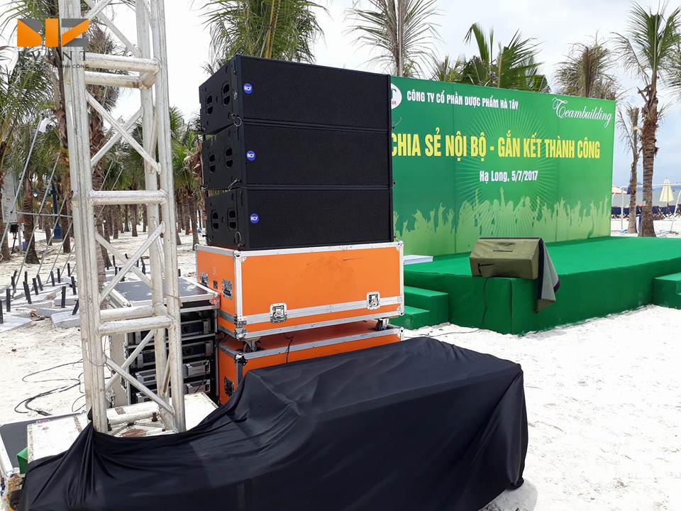 to chuc team buiding tai bai chay quang ninh - Biz Event setup âm thanh ánh sáng sân khấu chương trình Team Building Công ty Dược Hà Tây