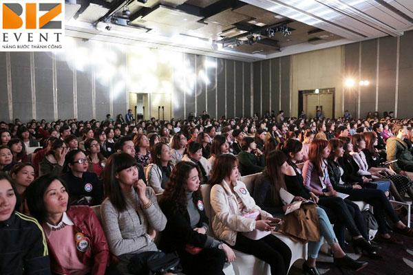 to chuc trien lam chuyen nghiep - Biz Event đồng hành cùng Tổ chức triển lãm thẩm mỹ Hàn Quốc 2017 tại Hà Nội