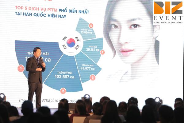 to chuc trien lam tham my han quoc 2017 12 - Biz Event đồng hành cùng Tổ chức triển lãm thẩm mỹ Hàn Quốc 2017 tại Hà Nội