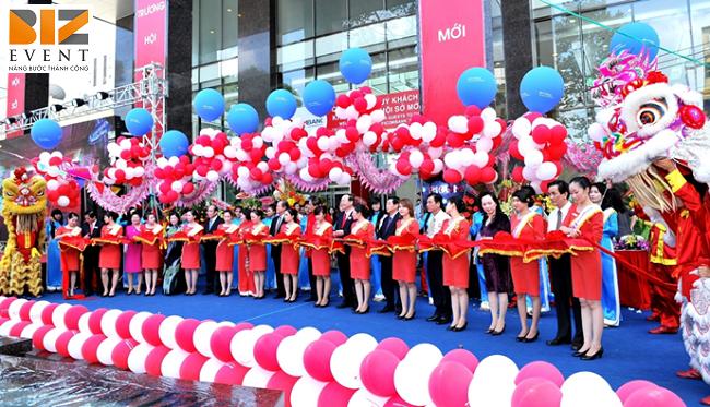 le khai truong - Tổ chức sự kiện khai trương, khánh thành tại Thái Bình ấn tượng, tiết kiệm