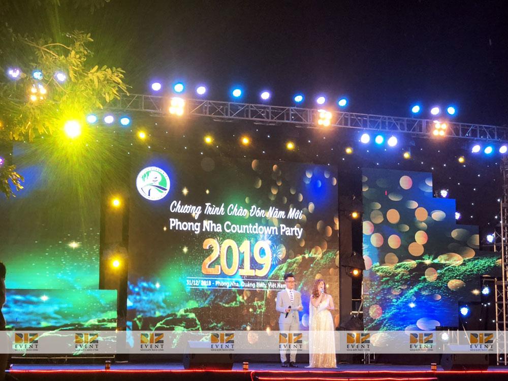 b1e7d3b54b53a80df142 - Set up thiết bị sự kiện tổ chức Phong Nha Countdown Party 2019