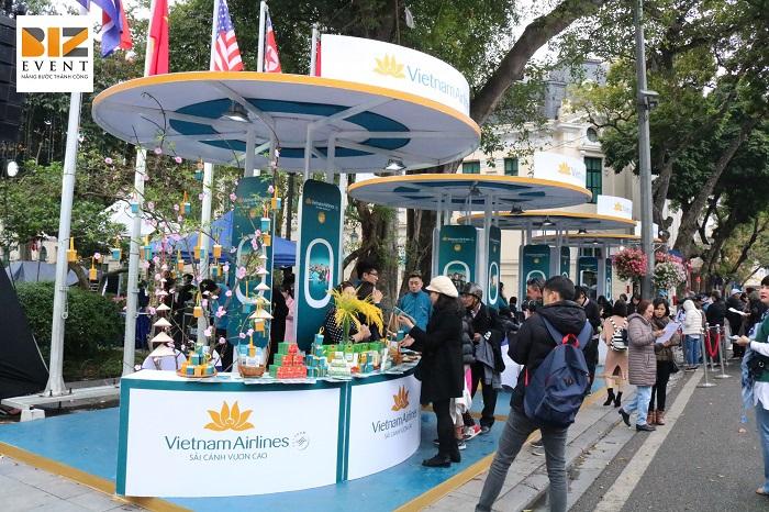 Biz Event tổ chức sự kiện Vietnam Airlines Festa 1
