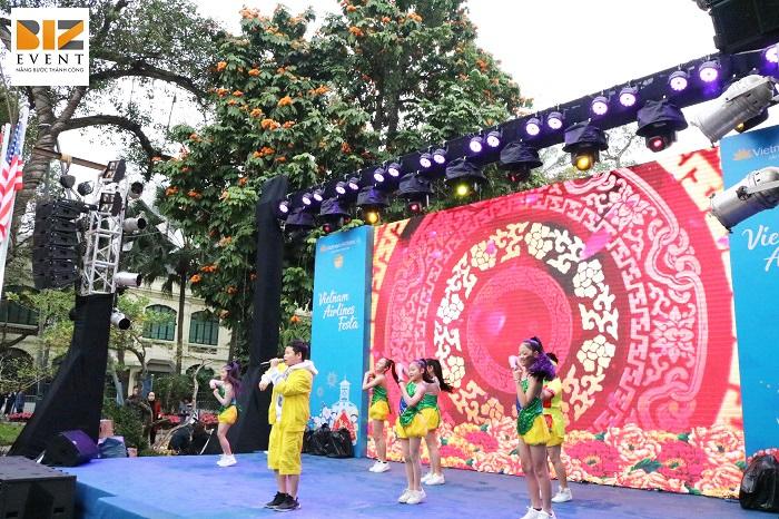 Biz Event tổ chức sự kiện Vietnam Airlines Festa 2