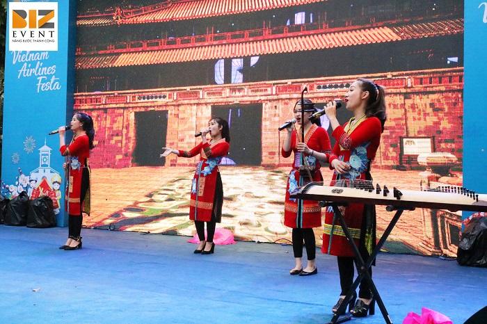 Biz Event tổ chức sự kiện Vietnam Airlines Festa 4