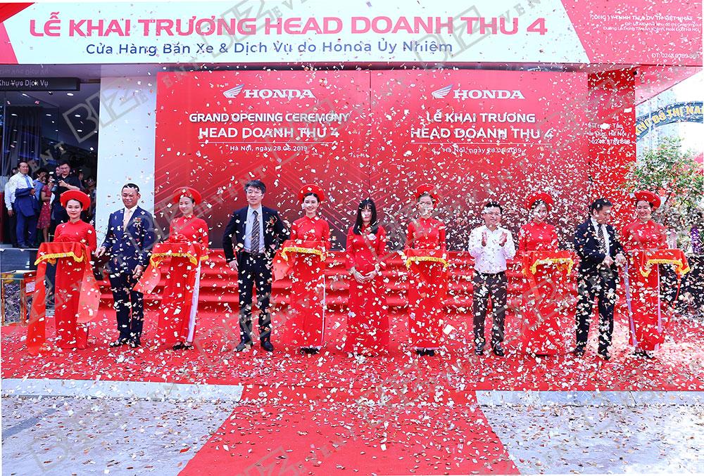 IMG 3129 - Tổ chức khai trương cửa hàng Honda Doanh thu 4