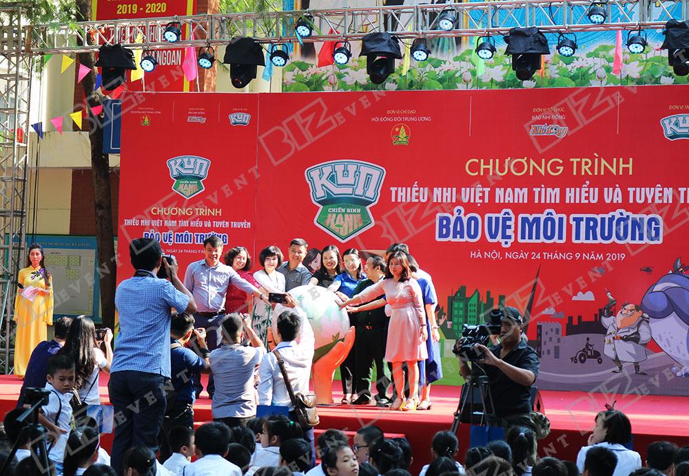 IMG 8460 - Set up Thiết bị sự kiện Tổ chức chương trình Thiếu nhi Việt Nam tìm hiểu và tuyên truyền bảo vệ môi trường 2019