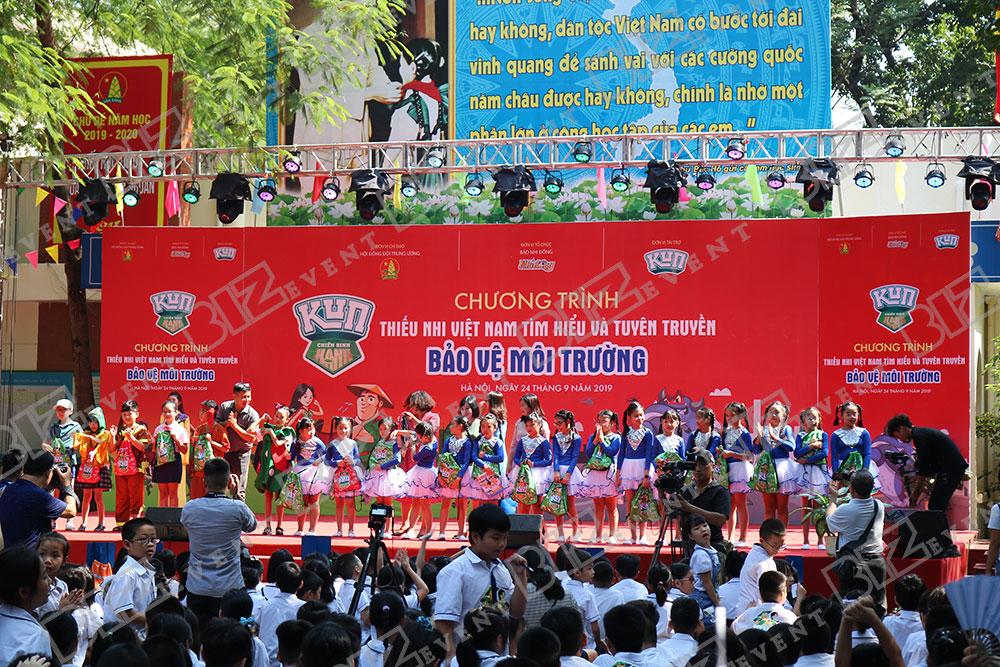 IMG 8504 - Set up Thiết bị sự kiện Tổ chức chương trình Thiếu nhi Việt Nam tìm hiểu và tuyên truyền bảo vệ môi trường 2019