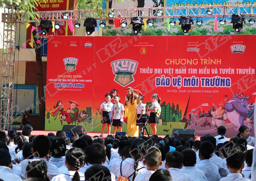 IMG 8506 - Set up Thiết bị sự kiện Tổ chức chương trình Thiếu nhi Việt Nam tìm hiểu và tuyên truyền bảo vệ môi trường 2019