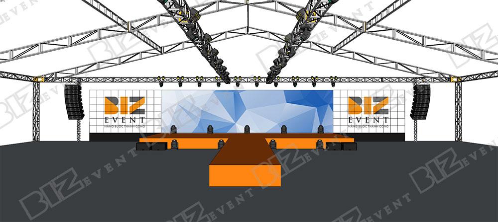 cho thuê sân khấu, thiết kế sân khấu tại hà nội2