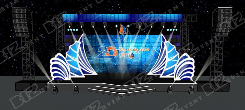 cho thuê sân khấu, thiết kế sân khấu tại hà nội