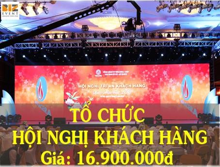 TỔ CHỨC SỰ KIỆN HỘI NGHỊ KHÁCH HÀNG CHỈ VỚI 16.900.000 ĐỒNG