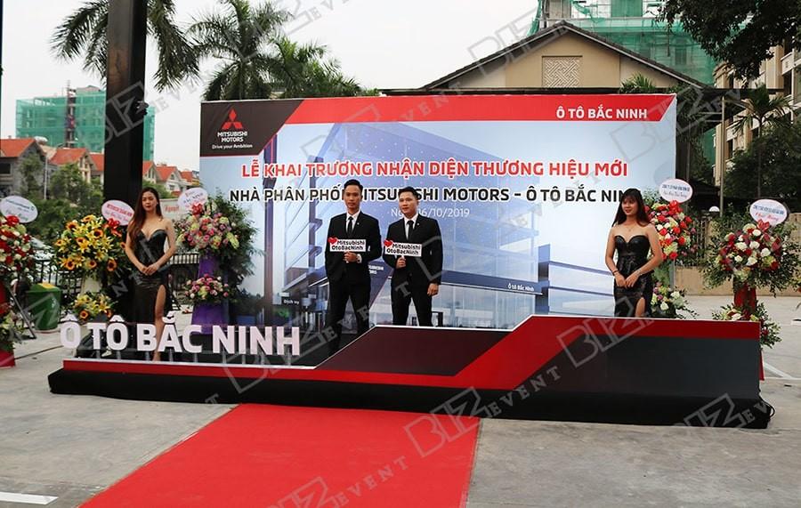 Tổ chức khai trương Mitsubishi Motors Ô Tô Bắc Ninh