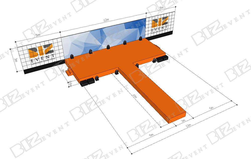cho thuê sân khấu, thiết kế sân khấu tại hà nội3