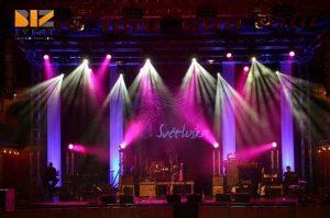 bố trí ánh sáng sân khấu