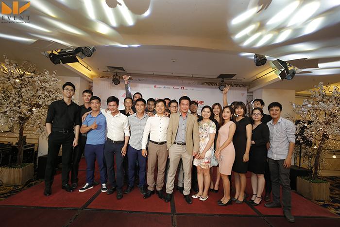 tổ chức lễ kỷ niệm thành lập công ty tại ba đình