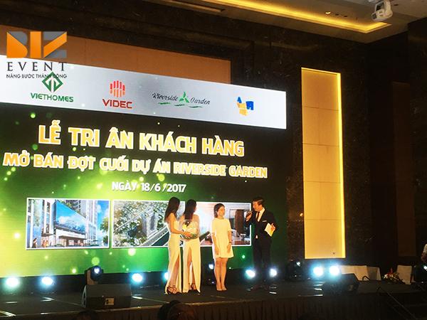 Biz Event tổ chức trọn gói lễ tri ân khách hàng cho công ty Địa ốc Viethome