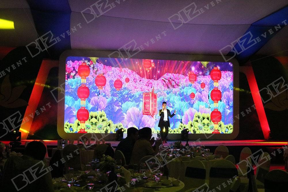 set up thiết bị tổ chức lễ tổng kết cuối năm cho Việt Nam Airline8