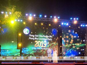 Set up thiết bị sự kiện tỏ chức Phong Nha Countdown Party 2019