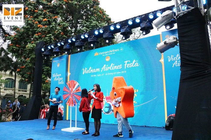 Biz Event tổ chức sự kiện Vietnam Airlines Festa 12