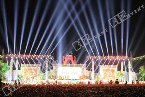 cho thuê ánh sáng tổ chức lễ hội đền hùng 8
