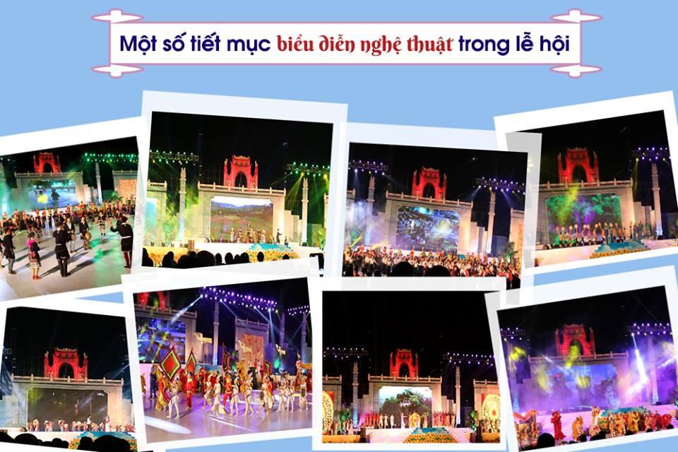 cho thuê ánh sáng tổ chức lễ hội đền hùng 1