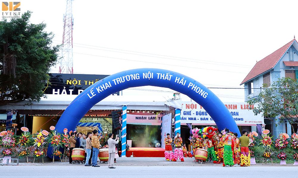 tổ chức khai trương khánh thành tại Hạ Long, Quảng Ninh