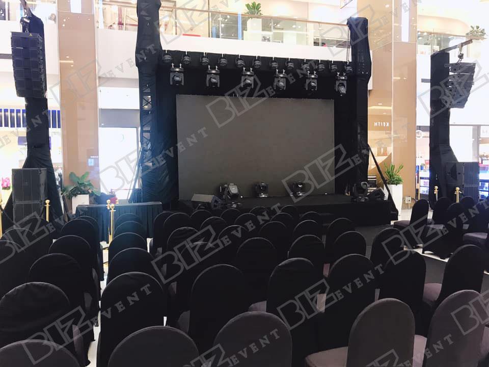 set up thiết bị sự kiện tổ chức buổi ra mắt mv mới của ĐVH1