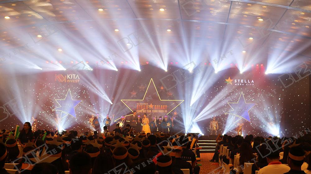 biz event cung cấp âm thanh ánh sáng tổ chức lễ ra quân stella mega city2