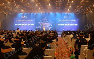 biz event cung cấp âm thanh ánh sáng tổ chức lễ ra quân stella mega city