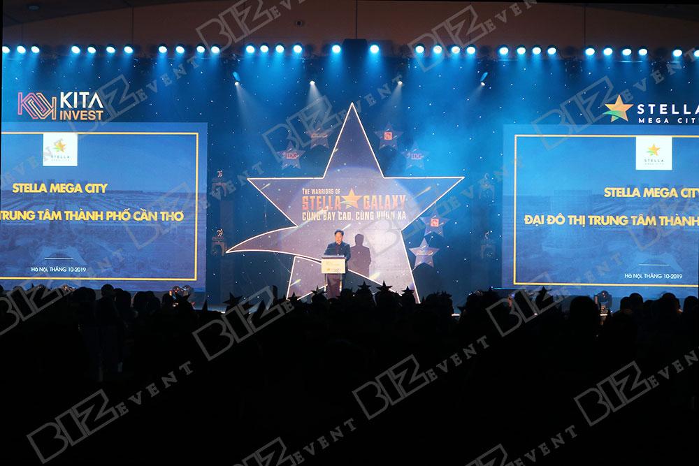 biz event cung cấp âm thanh ánh sáng tổ chức lễ ra quân stella mega city4